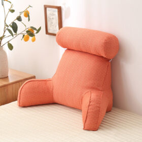 Backrest Pillow With Neck Support