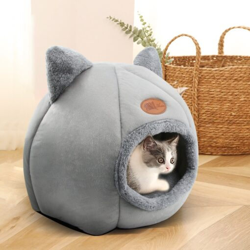 cat bed with ears