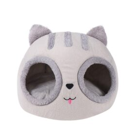 Cat Bed with Puppy Head Shape