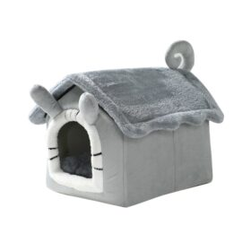 cat-bed-house-ears-tail