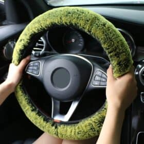 Fluffy Colorful Handwheel Cover