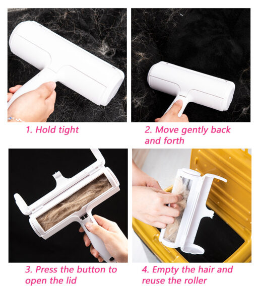 pet hair remover how to use
